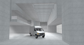 Rendering  Set Mercedes Benz Sprinter