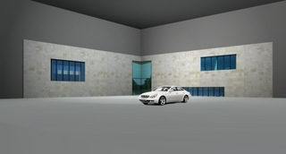 Rendering  Set Mercedes Benz  S-Klasse